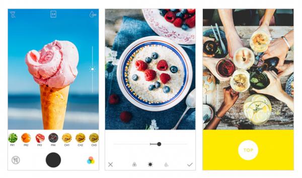 foodie top 6 ứng dụng phần mềm chụp ảnh đẹp