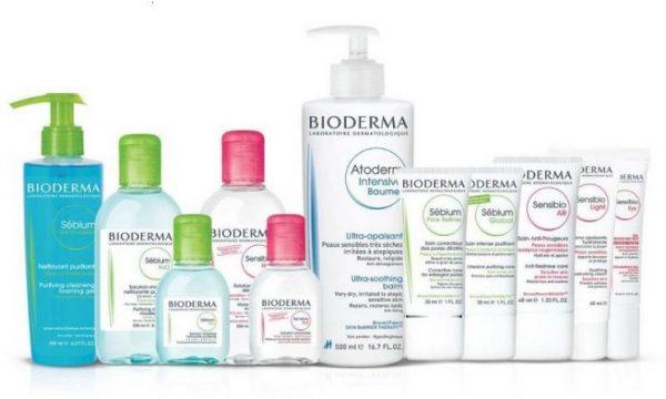bioderma top 5 hãng dược mỹ phẩm uy tín tốt nhất
