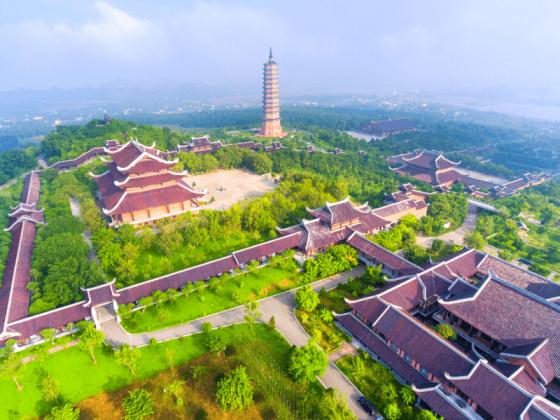 chùa bái đính top 10 địa điểm du lịch ninh bình đẹp