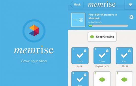 memrise top 5 ứng dụng phần mềm học tiếng anh miễn phí tốt nhất