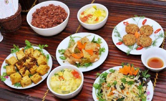 top 5 quán ăn chay ngon ở huế